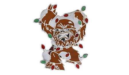 Disney Star Wars Pin - Chewbacca Covered in Lights