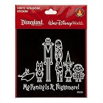 Disney Window Decal - The Nightmare Before Christmas