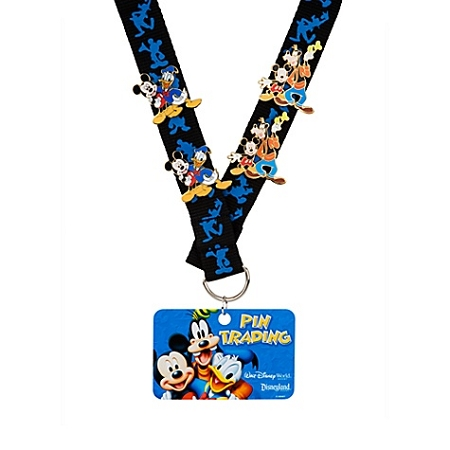 Disney Pin Trading Starter Set -  Mickey Mouse and Friends