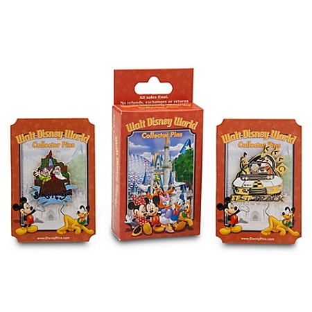 DIsney Mystery Pin Set - Walt Disney World - 2-Pc.