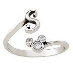 Disney Ring - Mickey Mouse Initial
