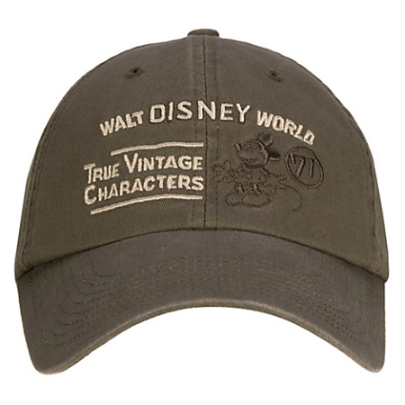 Disney Hat - Baseball Cap - Mickey Mouse True Vintage Characters