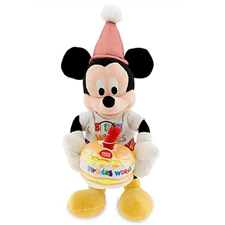 Disney Plush - Mickey Mouse - Musical Happy Birthday