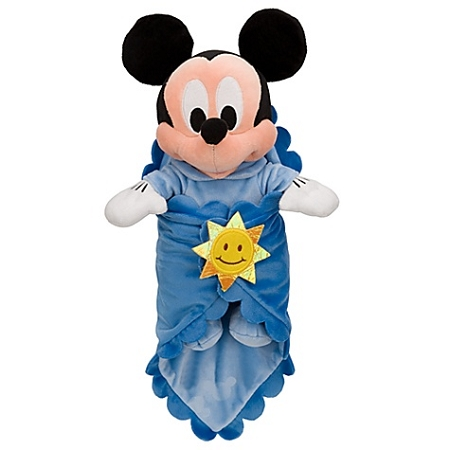 Disney's Babies Plush - Mickey Mouse - Plush Toy and Blanket