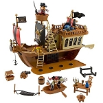 Disney Figurine Set - Pirates of the Caribbean Pirate Ship Play Set