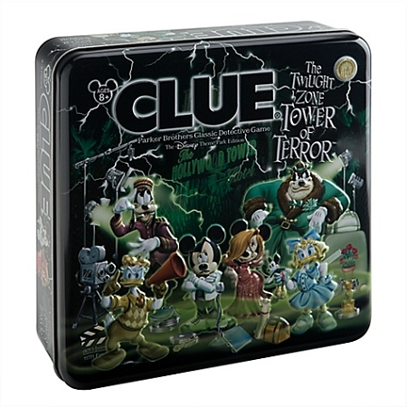 Disney Clue Game - The Twilight Zone Tower of Terror- Disney Theme Park Edition