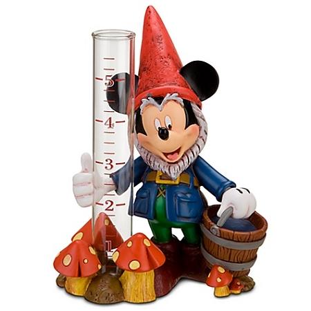 Disney Garden Rain Gauge - Mickey Mouse Gnome