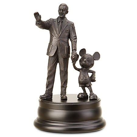 Disney Bronze Replica Statue - Walt Disney and Mickey Mouse Partners