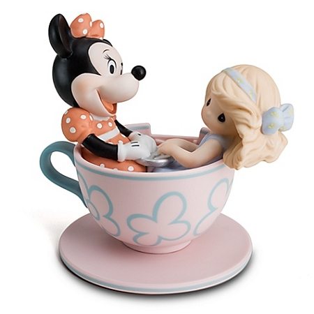 Disney Precious Moments Figurine - You Are My Cup of Tea - Tea Cup