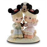 Disney Precious Moments Figurine - Happiness is Best Shared Together