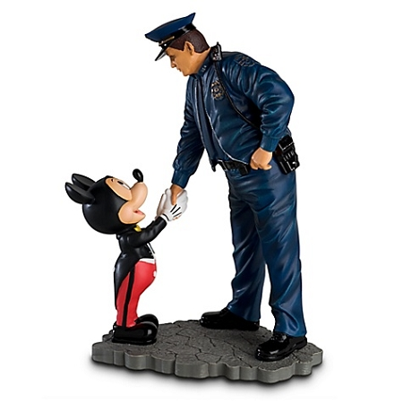 Disney Mickey Mouse Figurine - Policeman and Mickey Mouse