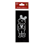 Disney Window Decal - Boy with Mickey Mouse Ear Hat