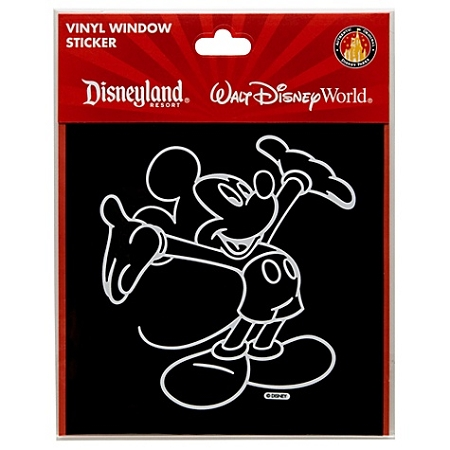 Disney Window Cling Mickey Mouse Window Decal