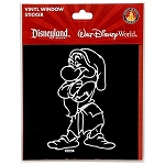 Disney Window Cling - Grumpy Window Decal