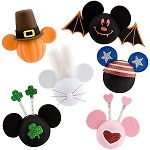 Disney Antenna Topper Set - All-Holiday Mickey Mouse