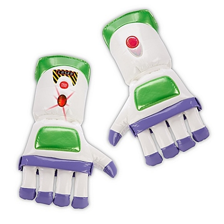 Disney Plush Gloves - Buzz Lightyear - Light-Up Gloves