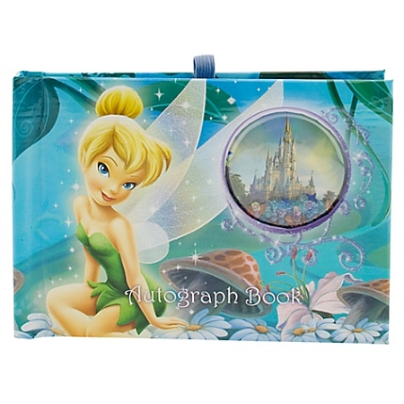 Disney Autograph Book and Photo Album - Tinker Bell