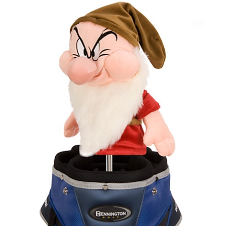 Disney Golf Club Cover - Grumpy Plush