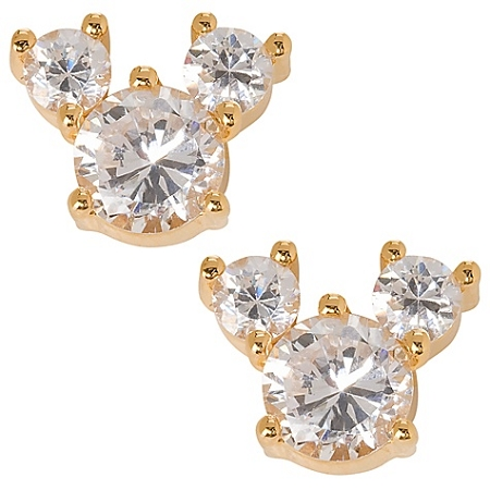 Disney Earrings - Cubic Zirconia Mickey Mouse