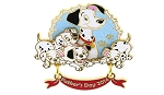 Disney Father's Day Pin - 2014 - Pongo with Puppies