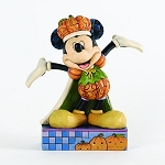 Disney Jim Shore Figurine - Mickey Mouse - Pumpkin-King Harvest