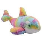 Sea World Plush - Whale Pastel Tie Dye - 20