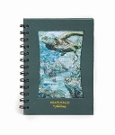 Sea World Address Book - Sea Turtles Art - Spiral