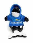 Sea World Plush - Shamu with Blue Hoodie