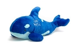 Sea World Plush - Shamu Whale - Blue - 16