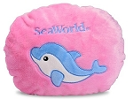 Sea World Flipout Pillow - Dolphin