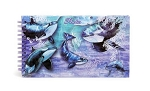 Sea World Photo Album - Shamu - Watercolor - 4 x 6
