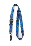Sea World Lanyard - Turtle Trek Logo - Blue