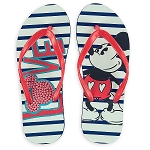 Disney Flip Flops for Women - Mickey Mouse Love