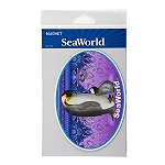 Sea World Auto Car Magnet - Penguin with Baby