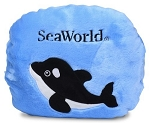 Sea World Flipout Pillow - Whale