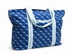 Sea World Tote Bag - Dolphin Print - Navy