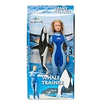 Sea World Barbie Doll - Female Whale Trainer Doll