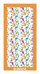 Sea World Beach Towel - Dolphin - Love Print