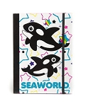 Sea World Journal Notebook - Whales and Stars