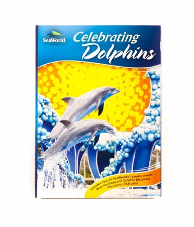 Sea World DVD - Celebrating Dolphins - Blue Horizons and Discovery