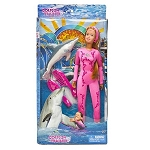 Sea World Barbie Doll - Female Dolphin Trainer Doll