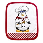 Sea World Pot Holder - Penguin Chef