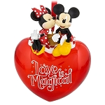 Disney Christmas Ornament - Mickey and Minnie - Love is Magical