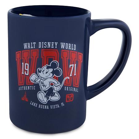 Mouse Disney 1971 Coffee Mug World Mickey Walt w0kOnP8