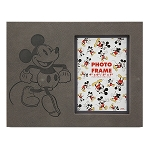 Disney Photo Frame - Mickey Mouse Embossed - Gray
