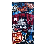 Disney Beach Towel - Mickey Mouse Collegiate - Walt Disney World
