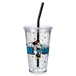 Disney Tumbler with Straw - Minnie Mouse - One and Only