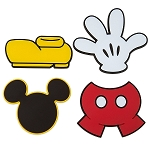 Disney Magnet Set - I am Mickey Mouse - Set of 4