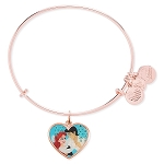 Disney Alex and Ani Bracelet - Ariel and Prince Eric  - Valentine's Day