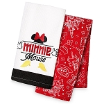 Disney Kitchen Towel Set - I Am Minnie Mouse - Set of 2